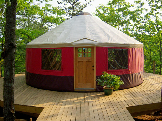 What is a yurt inner joyful lifestyle for Building a permanent tiny house